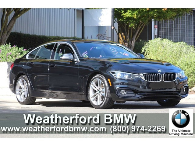 2019 BMW 430i at Weatherford BMW