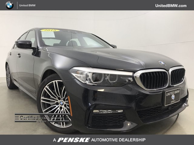 United Bmw Roswell >> Certified 2018 Bmw 530i Xdrive