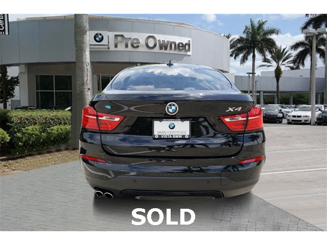 Certified 2018 BMW X4 xDrive